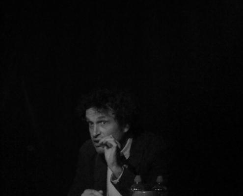 Portrait d'Yves Cusset- 7e Rencontres Jacques Copeau©Antonella Minchella , Romane Clere, Zoé Bardot
