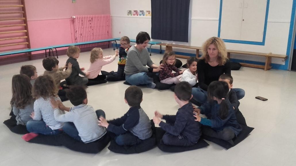 L'art du théâtre en immersion à l'Ecole maternelle de Savigny-les-Beaune
