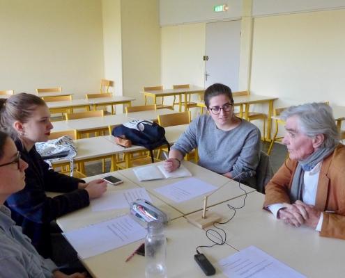 Rencontre avec Michel Huvet