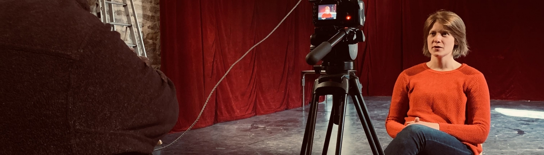 """Collectif Sans attendre - Stage """"Face caméra """" dirigé par S.Castang"""