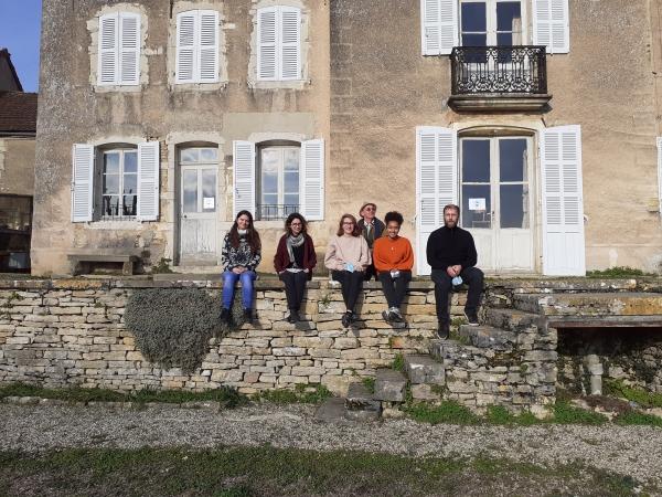 Elisa BOULEY, Anaïs PRUNIAUX, Eric FRANCONNET, Océane POISSON et Lisa BUCCI - IUT Info Com - Université de Bourgogne