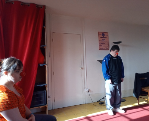 Atelier théâtre SAJ - Les Papillons Blancs