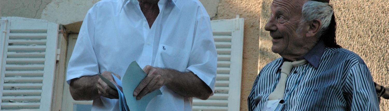 """Jacques Fornier et Jean-Louis Hourdin - """"La Fête à Copeau"""" 2013"""