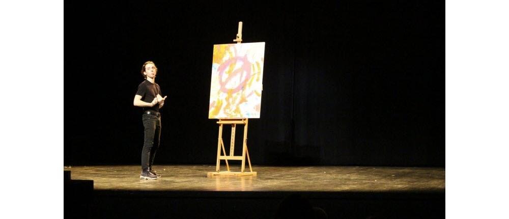 """Workshop """"De l'espace au plateau"""" avec Alexis Forestier - Étudiants des Beaux- Arts de Beaune & Côté Sud"""
