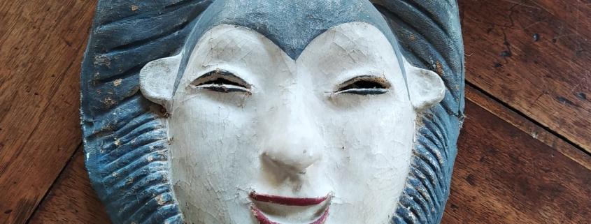 masque d'inspiration nô